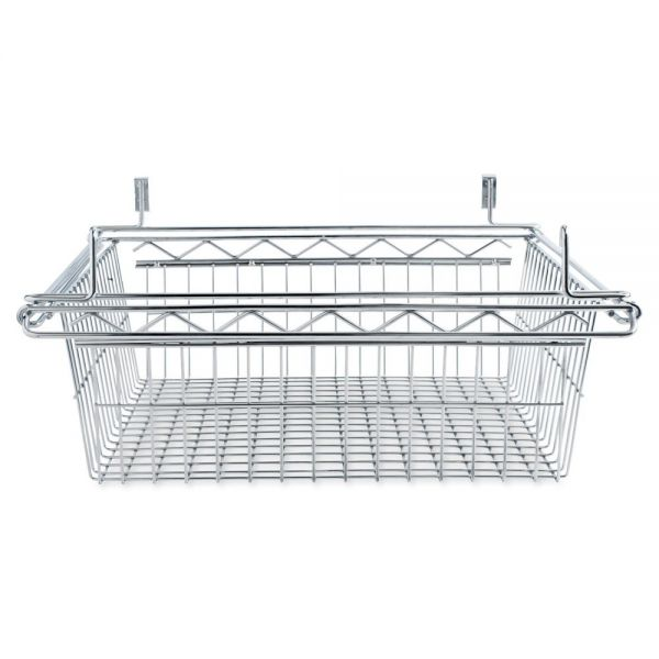 Alera Sliding Wire Basket For Wire Shelving