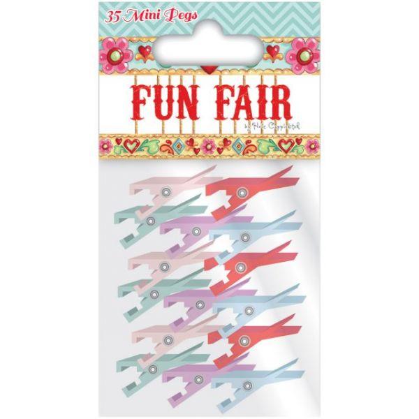 Helz Fun Fair Mini Wooden Pegs