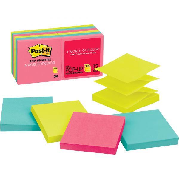 "Post-it 3"" x 3"" Pop-Up Notes"