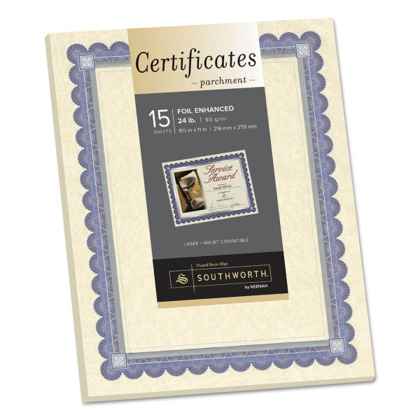 Southworth Foil Enhanced Certificates