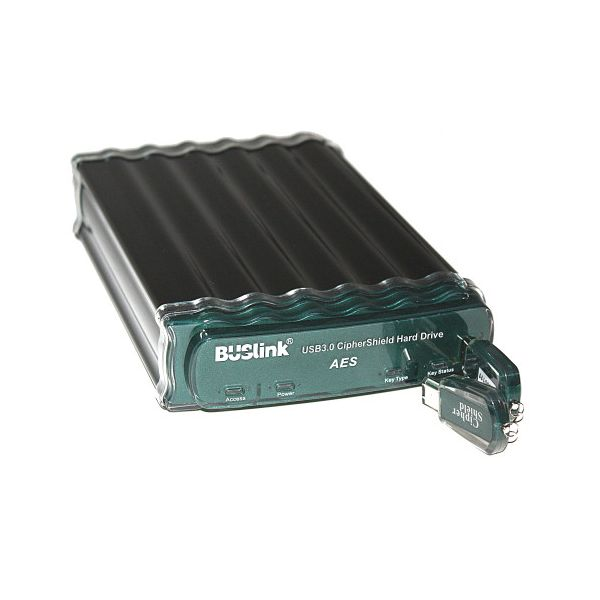 "Buslink CipherShield CSE-500-U3 500 GB 2.5"" External Hard Drive"