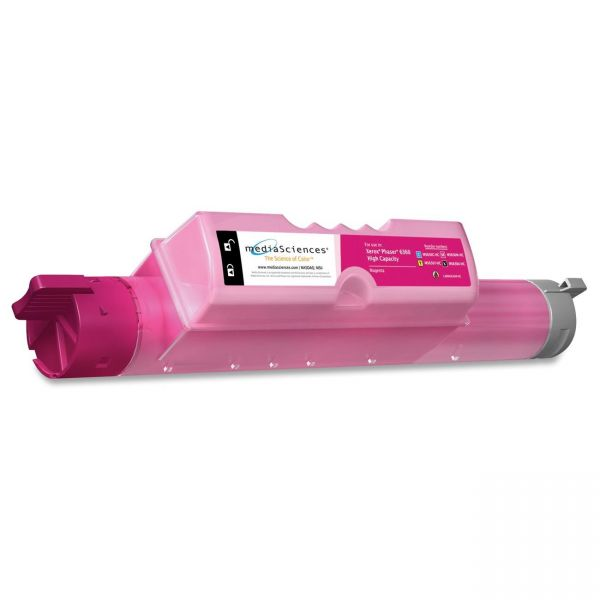 Media Sciences Remanufactured Xerox 106R01219 Magenta Toner Cartridge