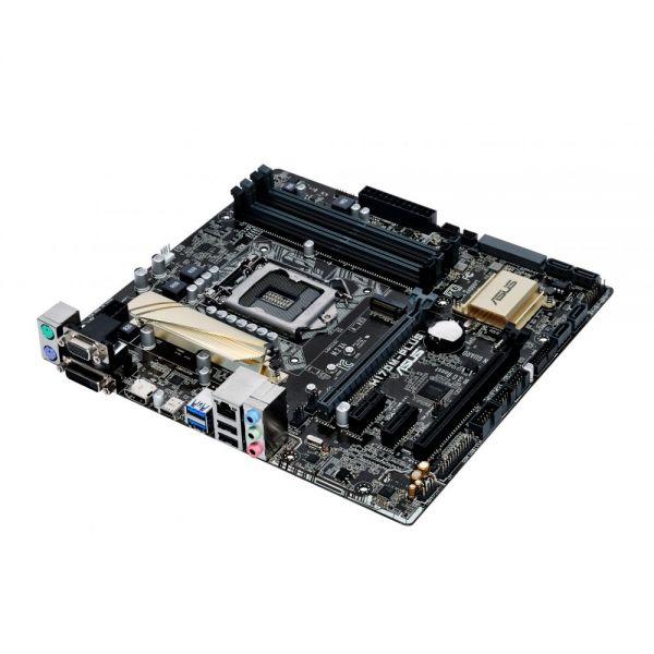 Asus H170M-PLUS/CSM Desktop Motherboard - Intel Chipset - Socket H4 LGA-1151