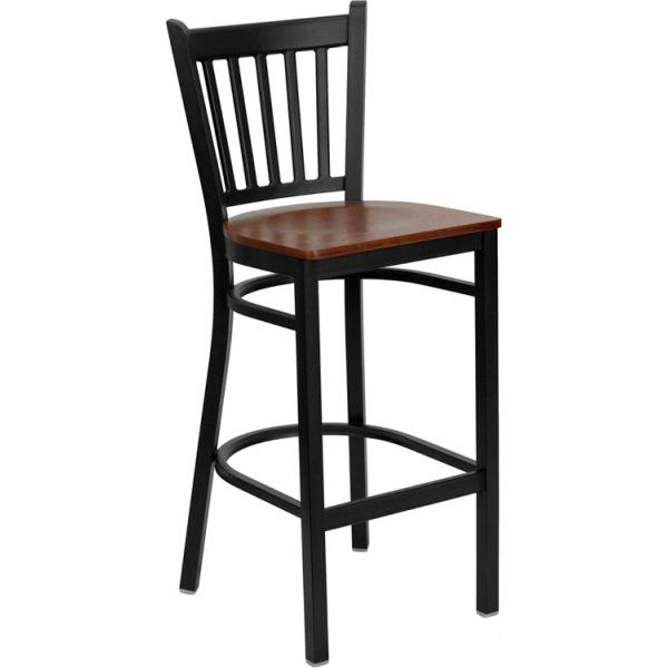 Flash Furniture HERCULES Series Vertical Back Barstool
