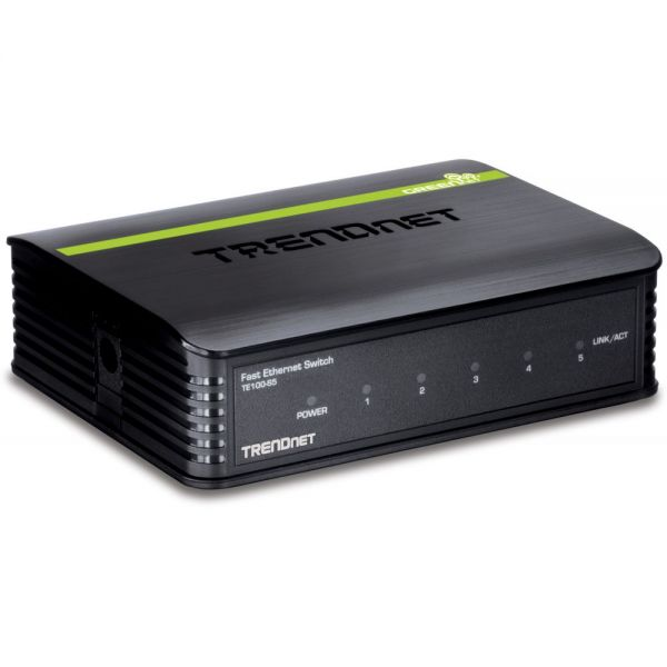 TRENDnet TE100-S5 5-port Fast Ethernet Switch
