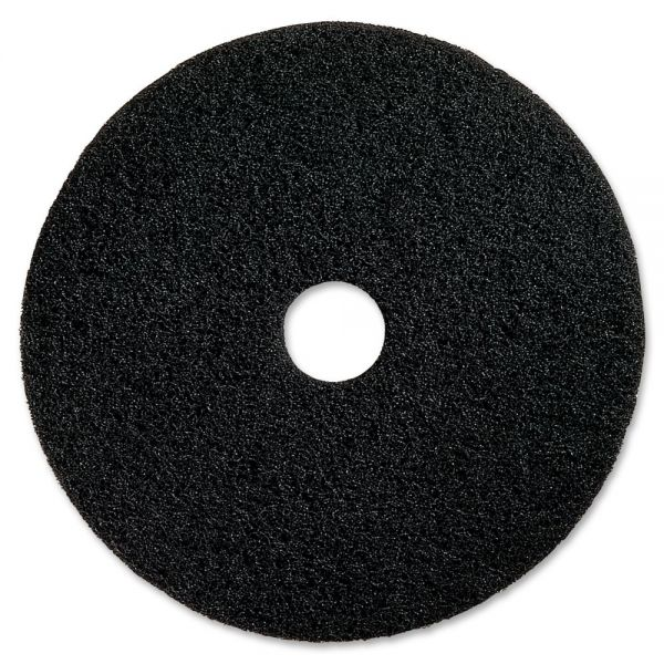 Genuine Joe Black Floor Stripping Pads