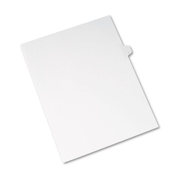Avery Allstate-Style Legal Exhibit Side Tab Divider, Title: I, Letter, White, 25/Pack