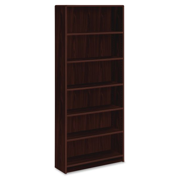 HON 1890 Series 6-Shelf Laminate Bookcase