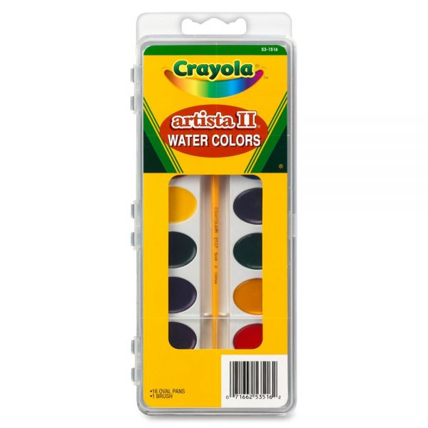 Crayola Artista II Watercolor Set
