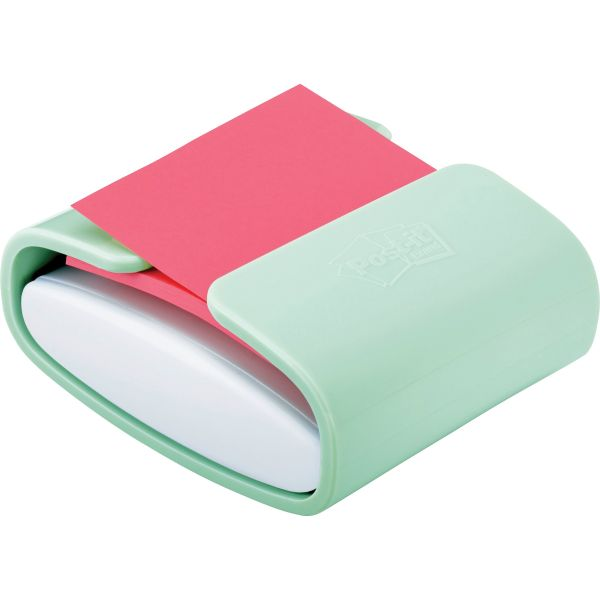 Post-it Pop-up Note Dispenser, Mint