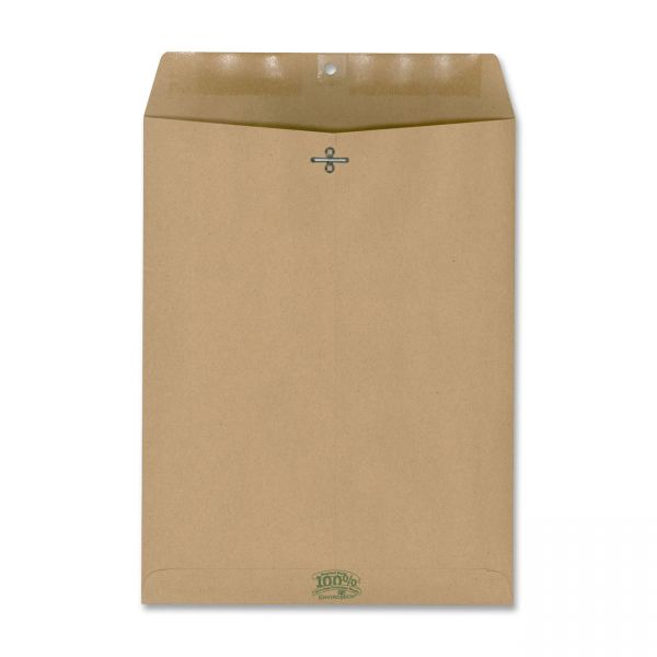 """EnviroTech 100% Recycled 10"""" x 13"""" Clasp Envelopes"""