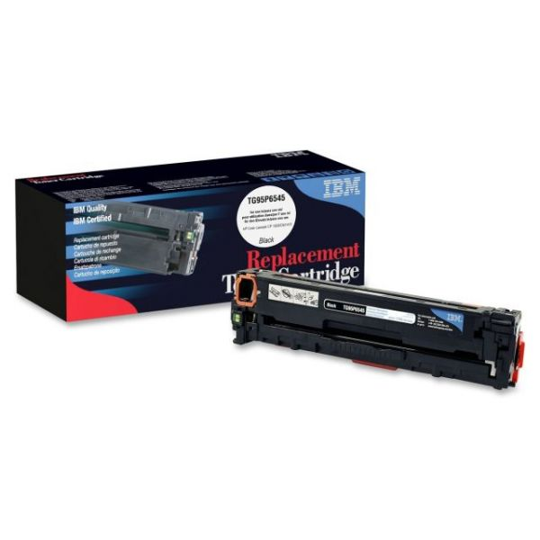IBM Remanufactured HP CE320A Black Toner Cartridge
