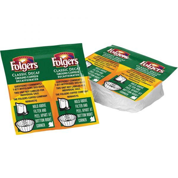 Folgers Premeasured Coffee Packs - Decaf