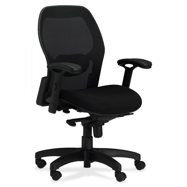 Mayline Mercado Series Mid-Back Mesh Office Chair