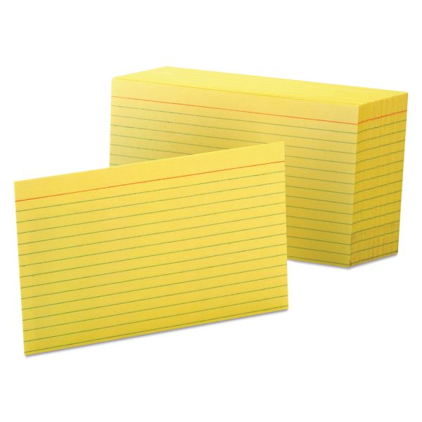 """Oxford 5"""" x 8"""" Ruled Index Cards"""