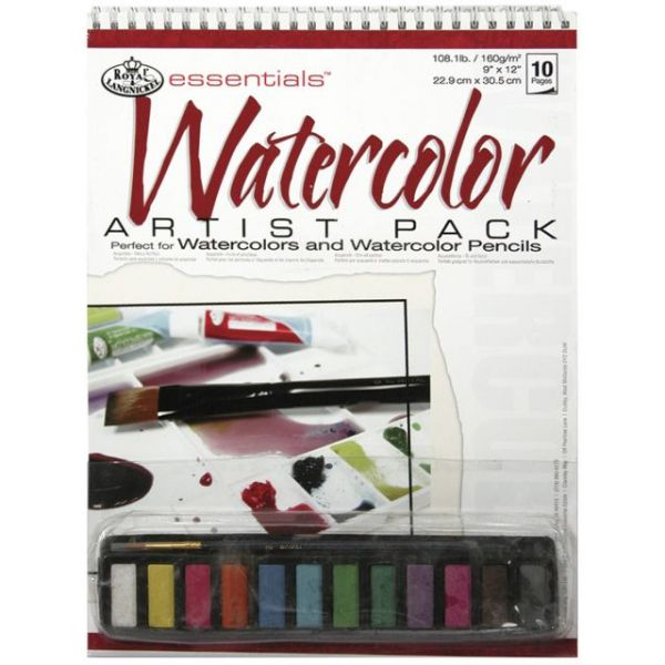 Essentials Watercolor Artist Pack