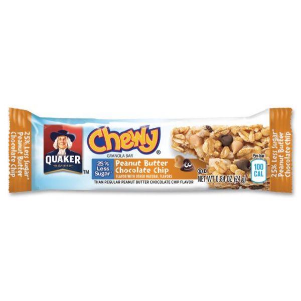 Quaker Oats Pnut Butter Choc. Chip Granola Bars