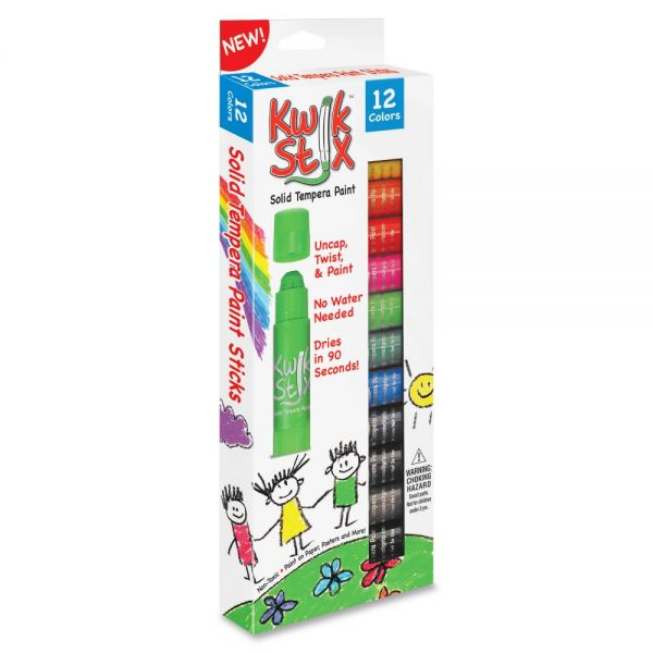 Kwik Stix Solid Tempera Paint Sticks