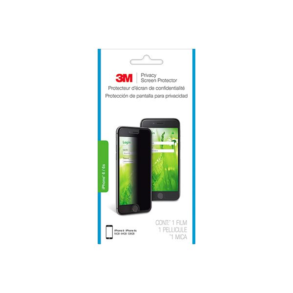 3M Privacy Screen Protector Black