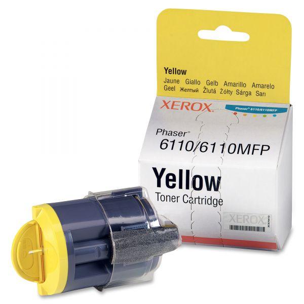 Xerox 106R01273 Toner Cartridge, 1000 Page-Yield, Yellow