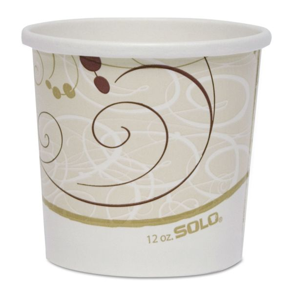 SOLO Cup Company Double Poly Paper Takeout Food Containers