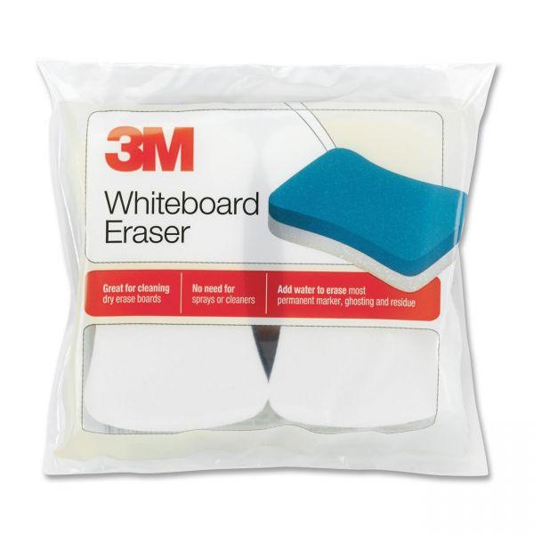 3M Whiteboard Eraser for Whiteboards, 2/Pack