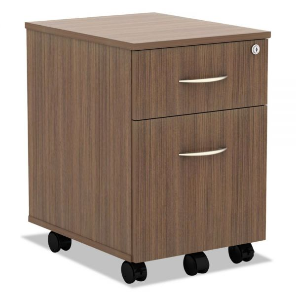 Alera Valencia Series 2-Drawer Mobile File Cabinet