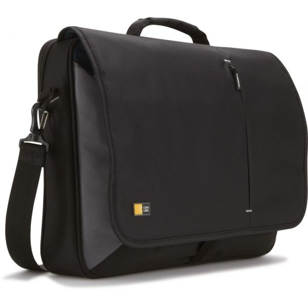"Case Logic VNM-217 Carrying Case (Messenger) for 17"" Notebook - Black"