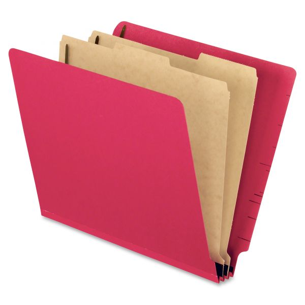 Pendaflex End Tab Pressboard Classification Folders