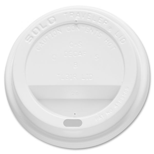 SOLO Cup Company Traveler Dome Hot Cup Lids
