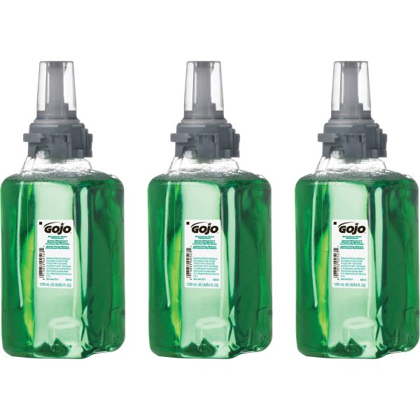 GOJO ADX-12 Botabical Foam Hand Soap Refills