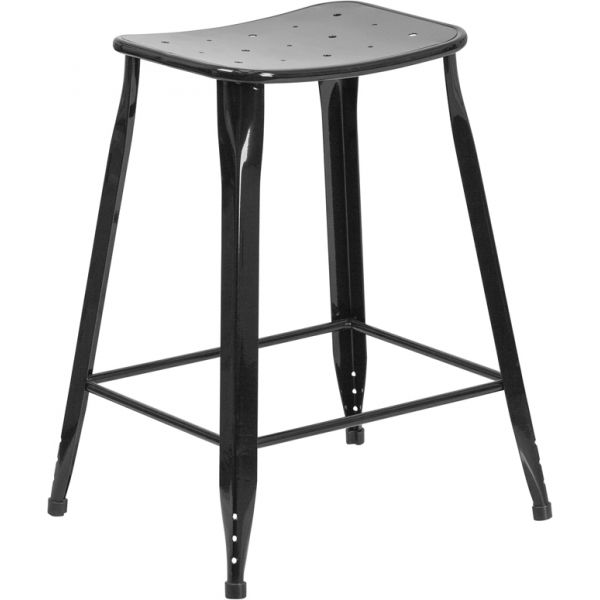 Flash Furniture 24'' High Indoor-Outdoor Counter Height Stool