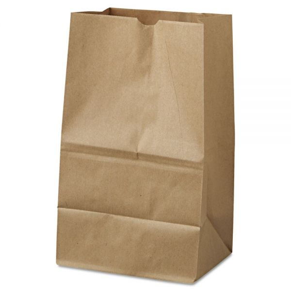 General #20 Squat Brown Paper Grocery Bags
