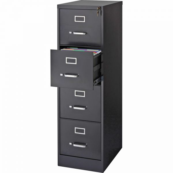 Lorell Commercial-Grade 4 Drawer Vertical File Cabinet