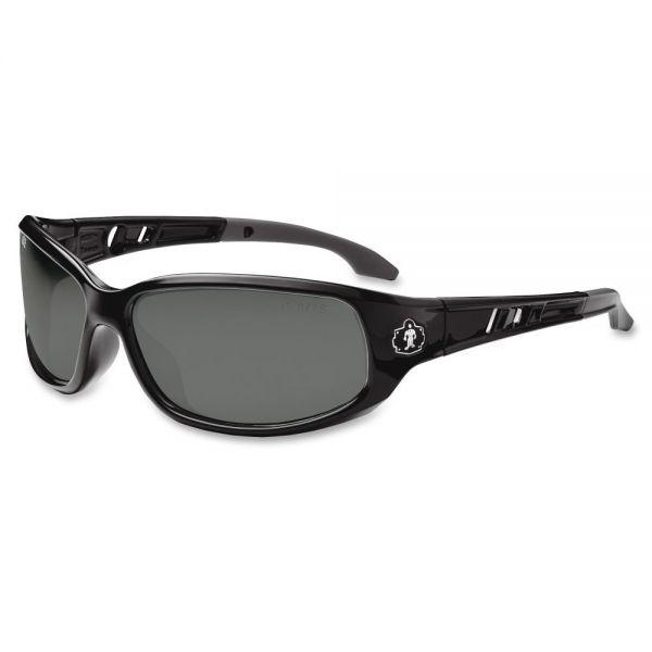 Ergodyne Valkyrie Smoke Lens Safety Glasses