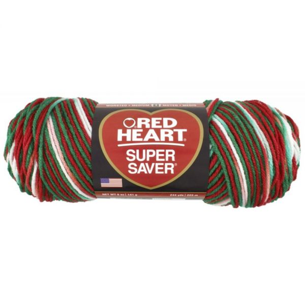 Red Heart Super Saver Yarn - Mistletoe