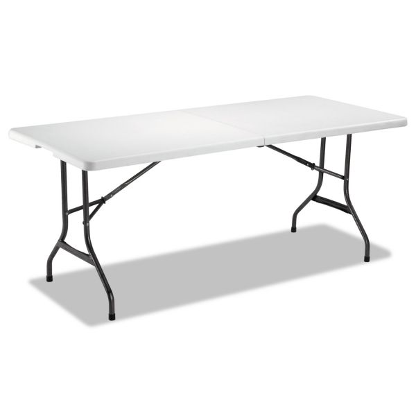 Alera Fold-In-Half Rectangular Folding Table