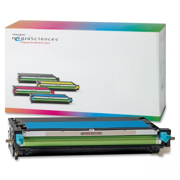 Media Sciences Remanufactured Dell 310-8095 Cyan Toner Cartridge