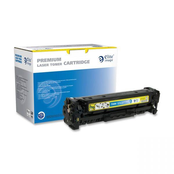 Elite Image Remanufactured HP CC532A Toner Cartridge