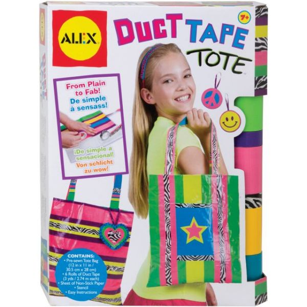 ALEX Toys Do-It-Yourself Wear Duct Tape Tote Kit
