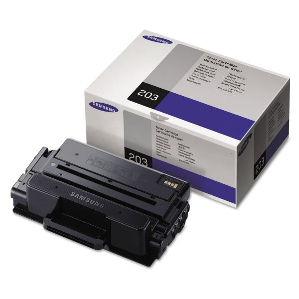 Samsung 203 Black Extra High-Yield Toner Cartridge (MLTD203E)