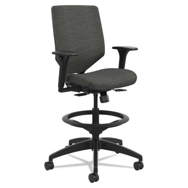 HON Solve Seating ReActiv Mid-back Task Stool