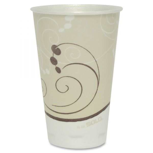 SOLO 16oz Foam Coffee Cups