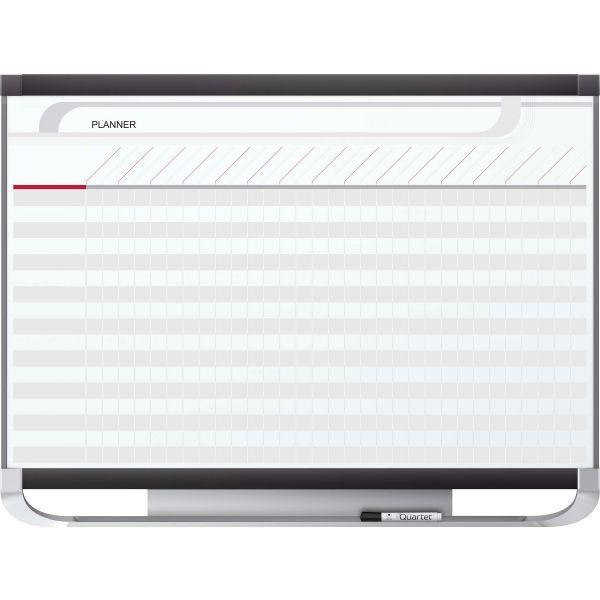 Quartet Prestige 2 Total Erase Project Planning Board, 48 x 36, Graphite Frame