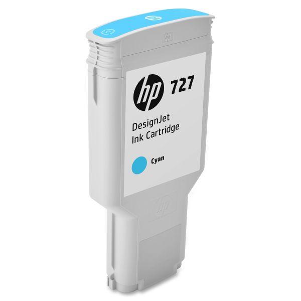 HP 727 Cyan Ink Cartridge (F9J76A)
