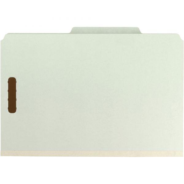 Smead Gray-Green Pressboard Classification Folders