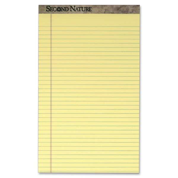Second Nature Recycled Legal Pads