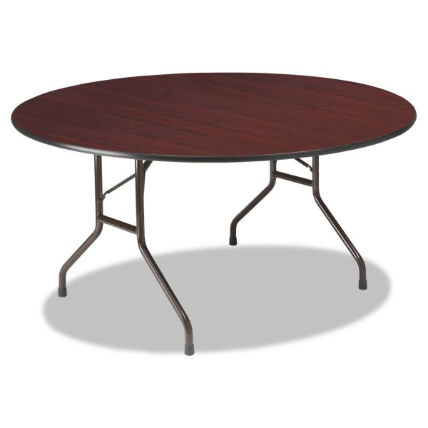 Iceberg Wood Laminate Round Folding Table