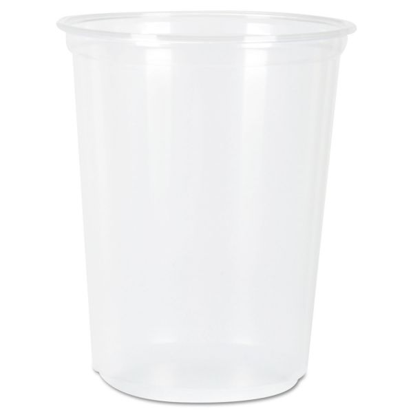Fabri-Kal RK Ribbed 7 oz Plastic Cold Cups