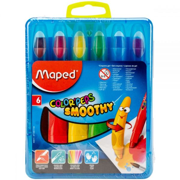Color'Peps Smoothy Retractable Gel Crayons